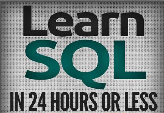 کتاب Learn SQL in 24 hours or less