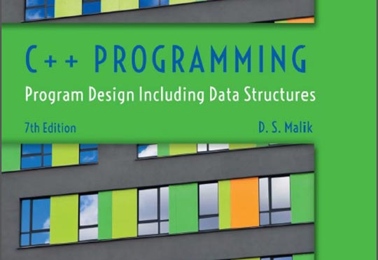 کتاب C++ Programming Program Design Including Data Structures